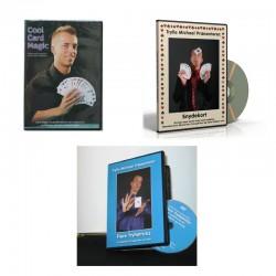 3 DVD'er for 100 kr.