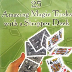 25  AMAZING TRICK WITH A STRIPPER DECK. DVD